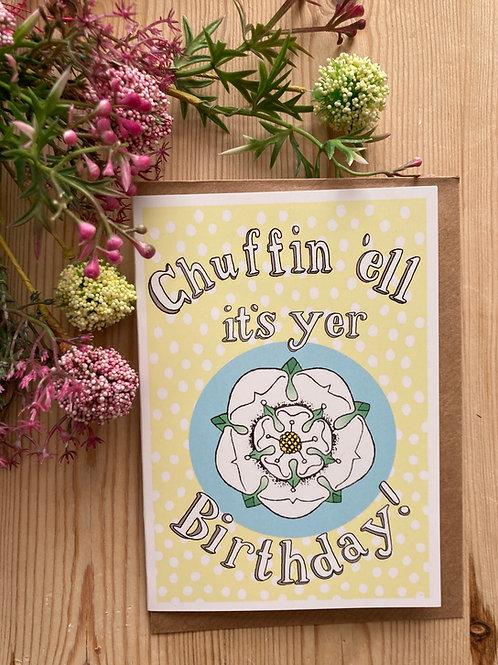 Yorkshire Birthday Card