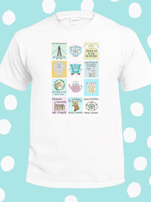 Yorkshire sayings T shirt