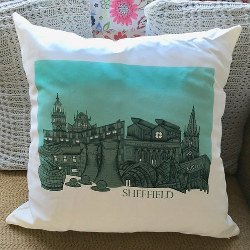 Sheffield Skyline Cushion
