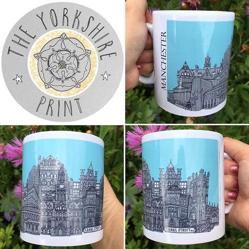 Manchester Skyline Mug