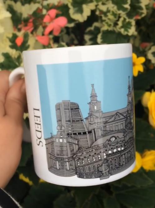 Leeds Skyline Mug