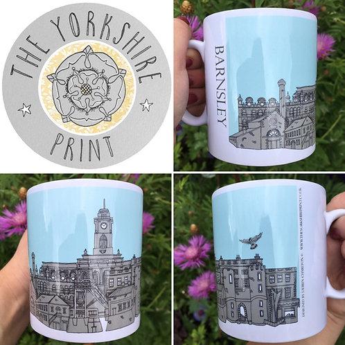 Barnsley Skyline Mug