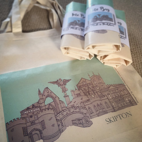Skipton Skyline Tote Bag