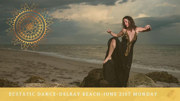Ecstatic Dance on Delray Beach June