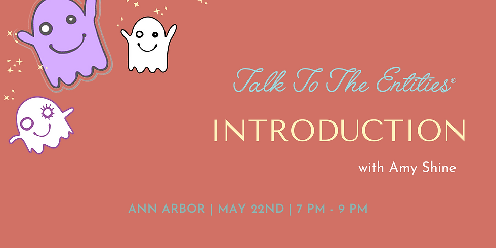 Talk To The Entities - Introduction Live & Online