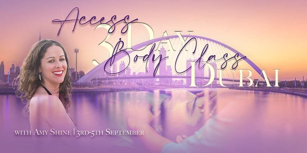Access 3 Day Body Class with Amy Shine in Dubai