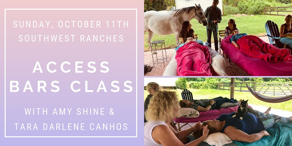 Access Bars Class Southwest Ranches with Amy & Tara