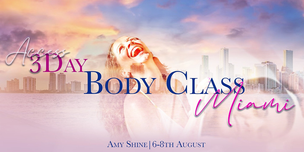 Access 3 Day Body Class with Amy Shine in Miami