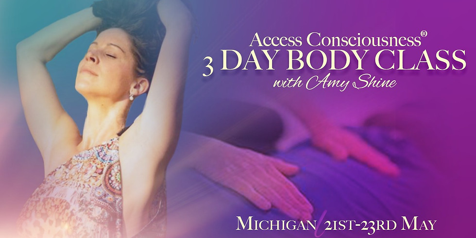 Access 3 Day Body Class Michigan with Amy Shine