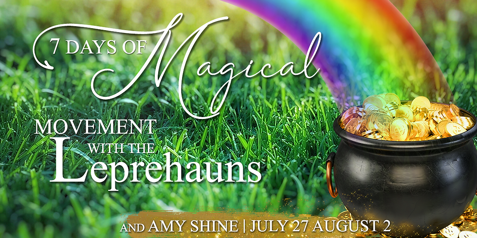 7 Days of Magical Movement with the Leprechauns