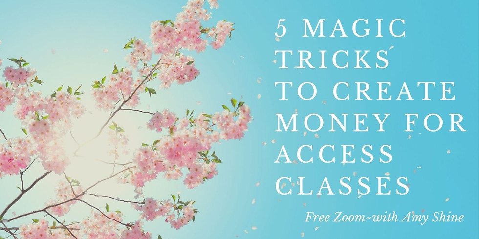 5 Magic Tricks to Create Money for Access Classes (1)
