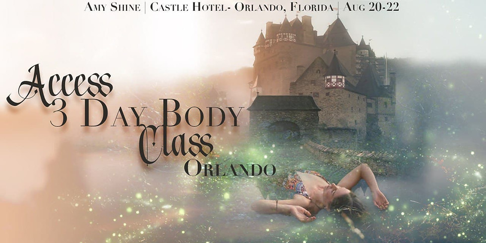 Access 3 Day Body Class Orlando with Amy Shine