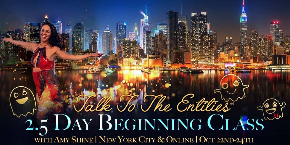 Talk To The Entities - The NEW Beginning Live in New York & Online