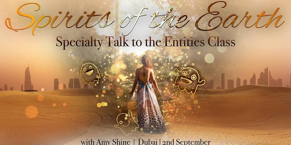 Spirits of the Earth Live in Dubai & Online with Amy Shine