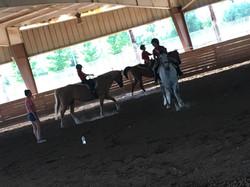 Mounted Meeting