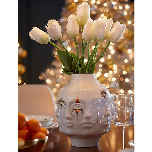 Jonathan Adler Gilded Large Dora Maar Vase