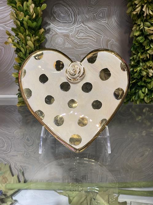 Mary Rose Heart Dish