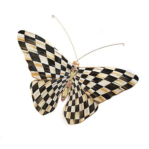 Mackenzie Childs Courtly Check Butterfly