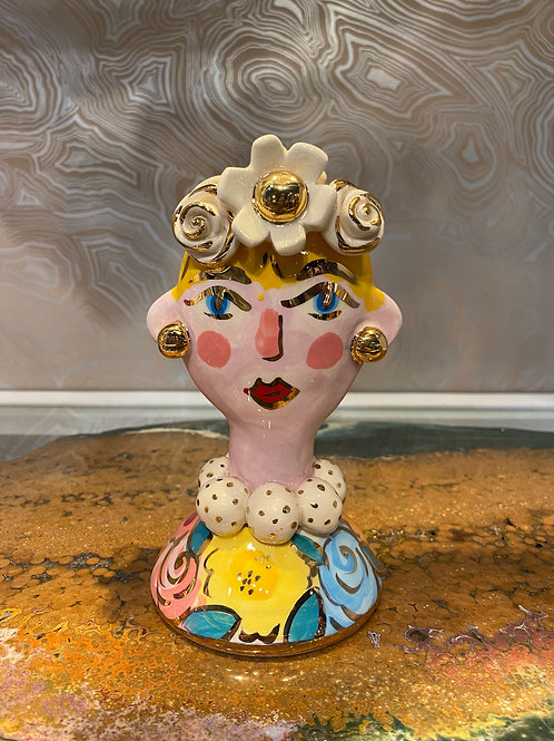 Mary Rose Baby Face Vase