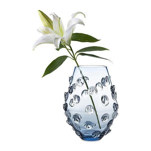 """Florence 11"""" Blue Vase"""