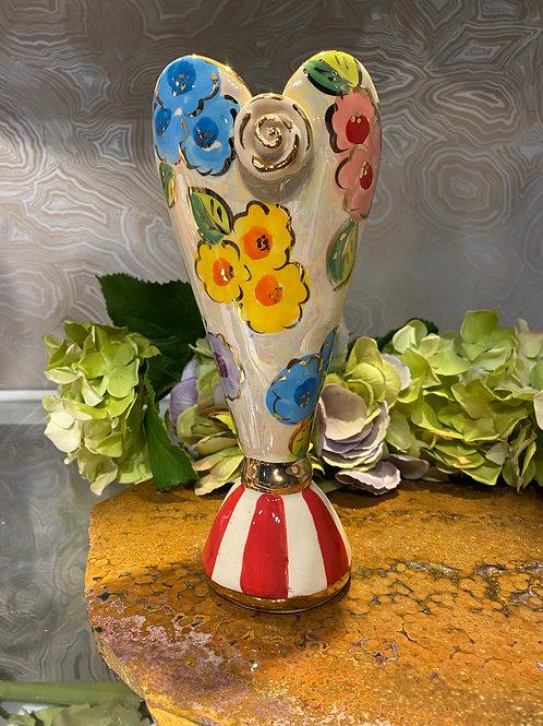Mary Rose Heart Vase