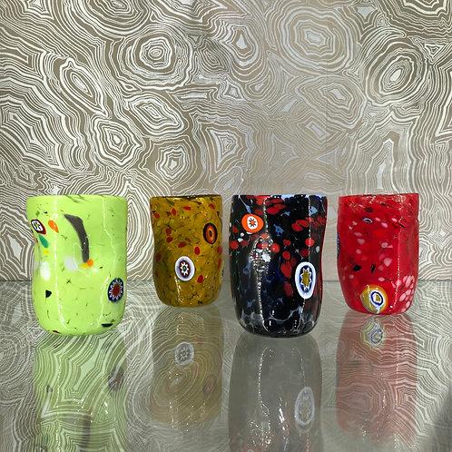 Murano Glass Set of 4