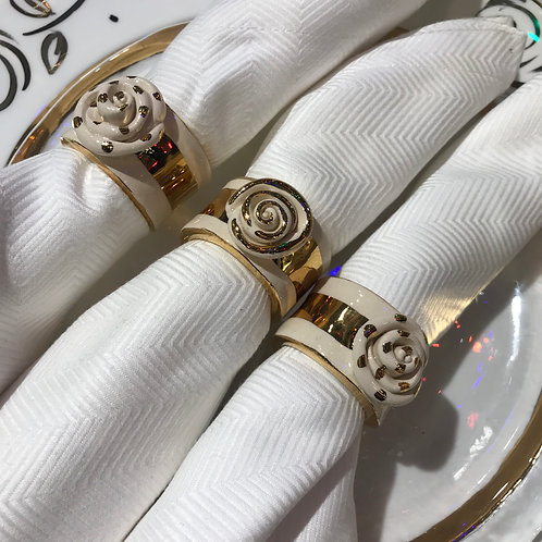 Mary Rose Young Napkin Rings