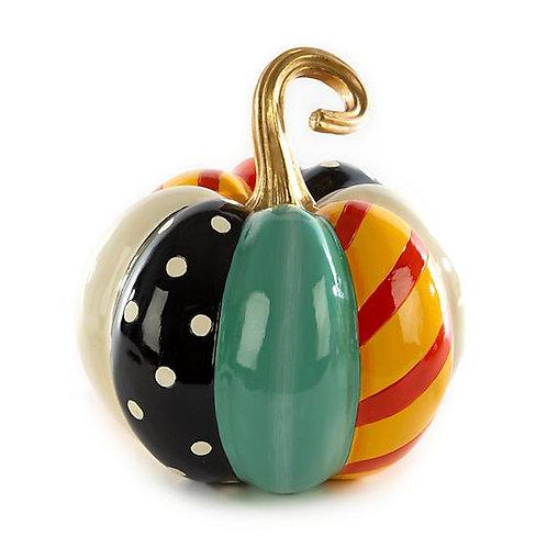 MacKenzie-Childs Medium Patchwork Pumpkin