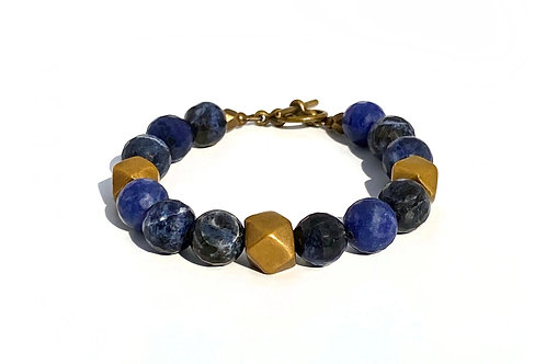 Rachel Nathan Foundation Faceted Sodalite