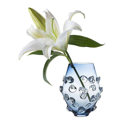 """Juliska 6"""" Blue Florence Vase"""
