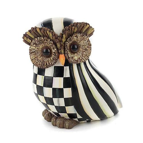 Mackenzie Childs Courtly Stripe Owl