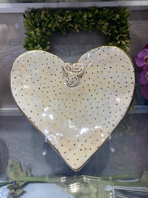 Mary Rose Young Large Heart Dish
