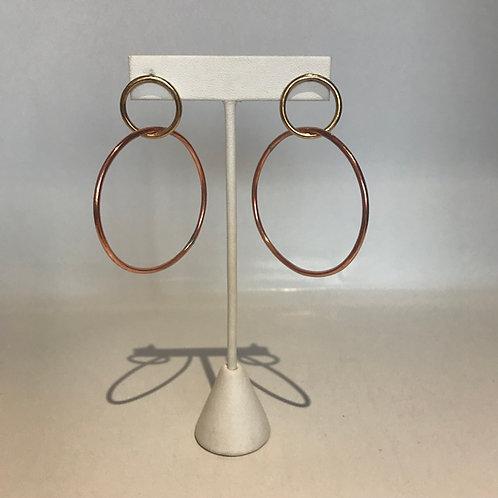 B. Larson Design Double Hoop Earrings
