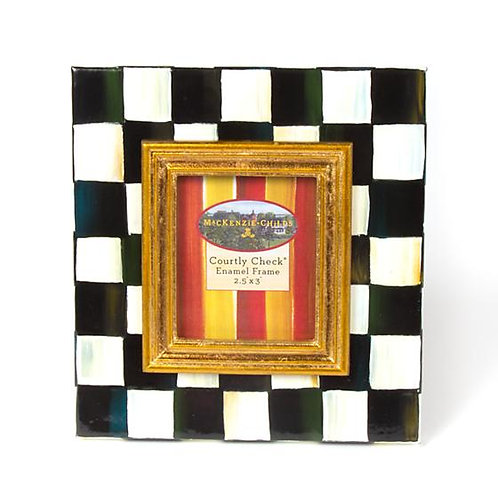 Mackenzie Childs 2x3 Frame in Courtly Check