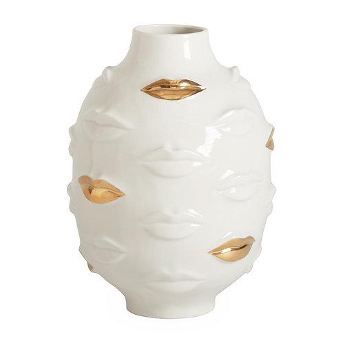 Jonathan Adler Gilded Gala Round Vase
