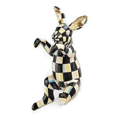 MacKenzie-Childs Funny Bunny Pot Climber
