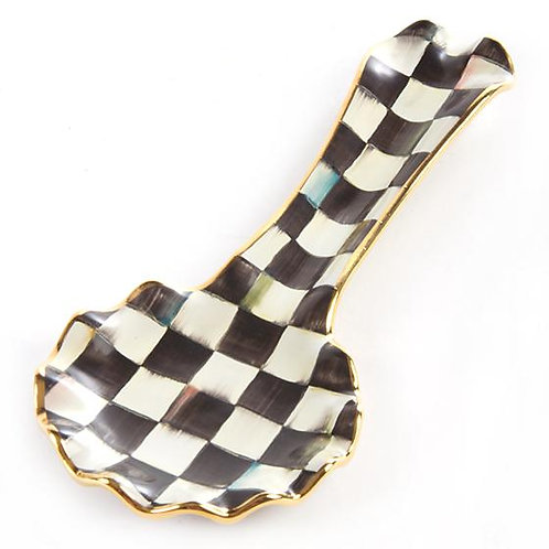 MacKenzie-Childs Courtly Check Spoon Rest