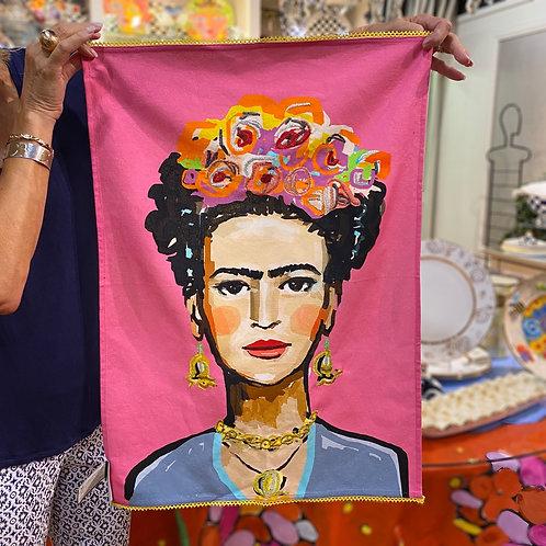 Frida Kahlo Tea Towel