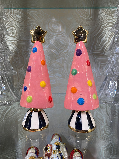 MRY Christmas Tree in Pink, Black, and Rainbow