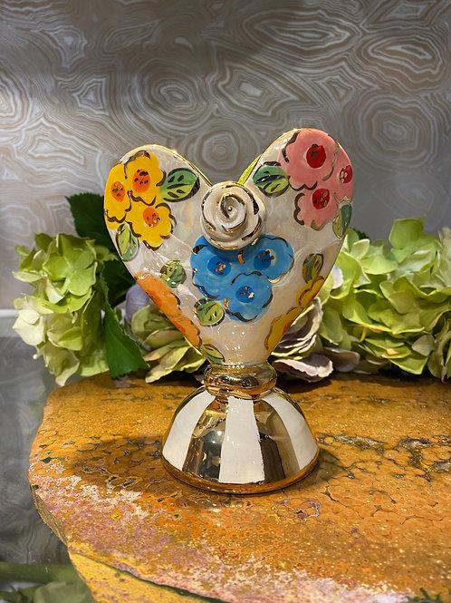 Mary Rose Baby Heart Vase