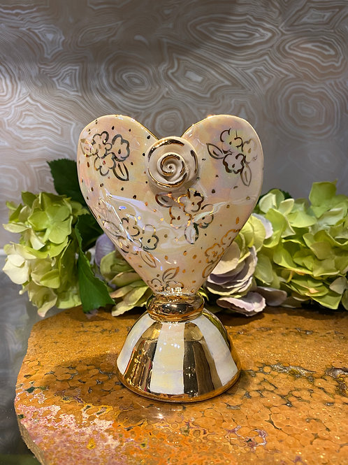 Mary Rose Baby Heart Vase
