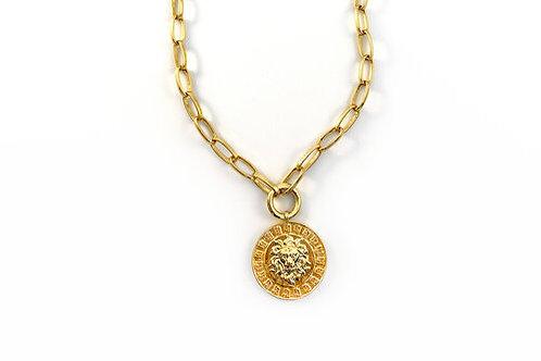 Rachel Nathan Lion Medallion