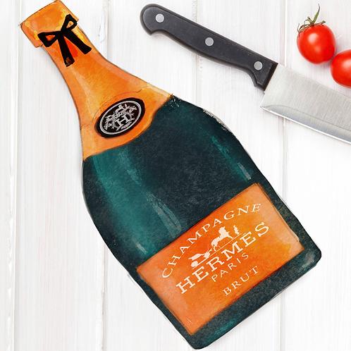 Champagne Cutting Board