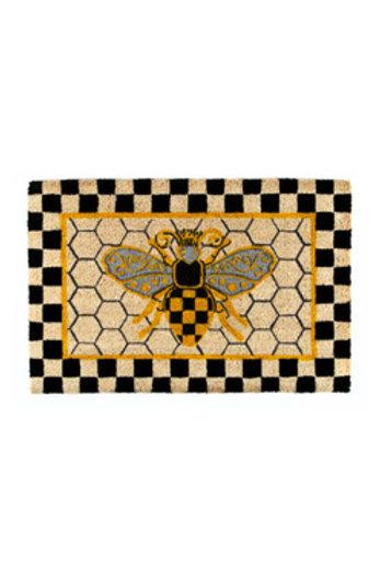 MacKenzie-Childs Queen Bee Entrance Mat