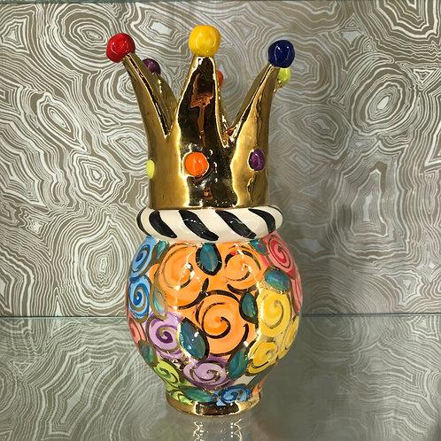 Mary Rose Crown Vase