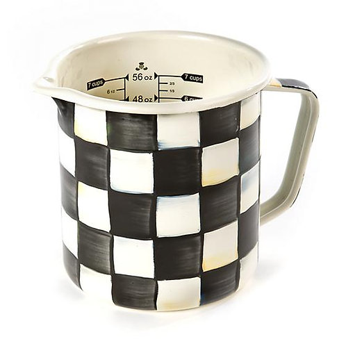 Courtly Check 7 Cup Enamel Measuring Cup