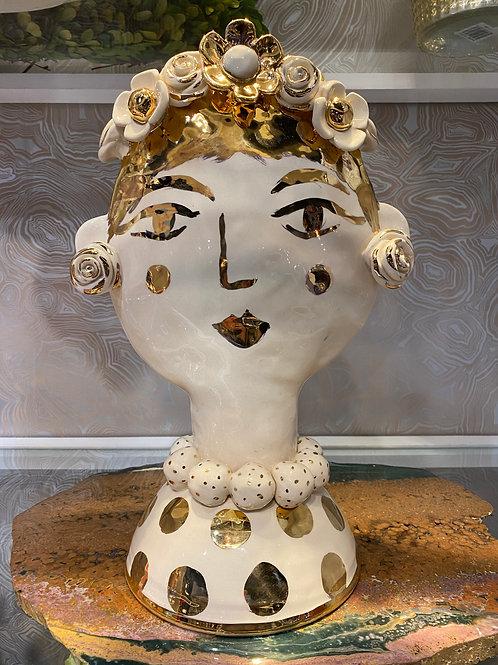 Extra Large Mary Rose Face Vase