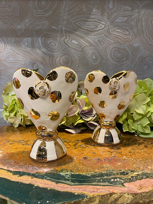 Fat Baby Heart Vase