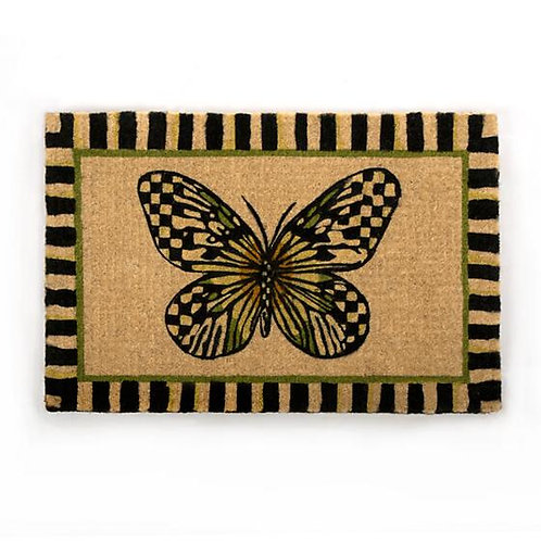 MacKenzie-Childs Butterfly Entrance Mat
