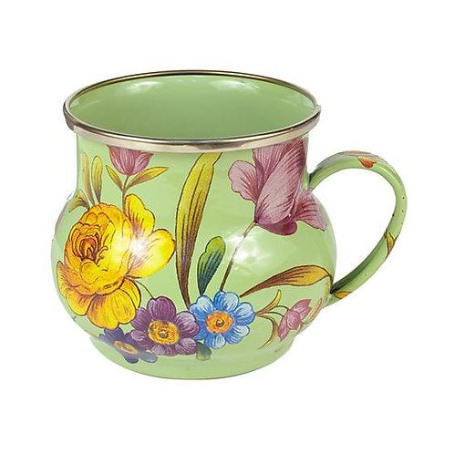 MacKenzie-Childs Flower Market Mug - Green